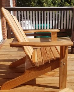 Adirondack Chair (Side View)